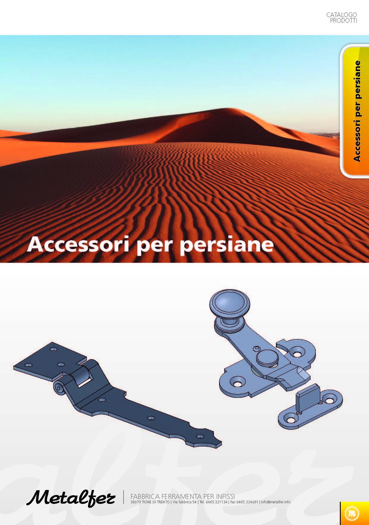Accessori per Persiane